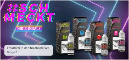 #Schmeckt Nikotinsalz