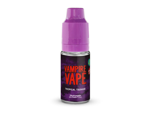 Vampire Vape Tropical Tsunami- E-Zigaretten Liquid 3 mg/ml