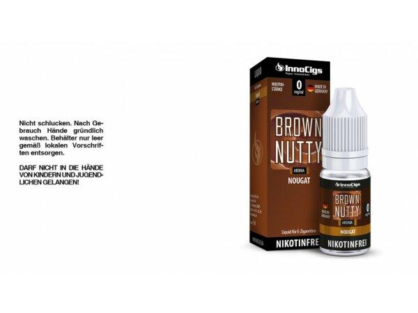 InnoCigs - Brown Nutty Nougat Aroma - Liquid für E-Zigaretten