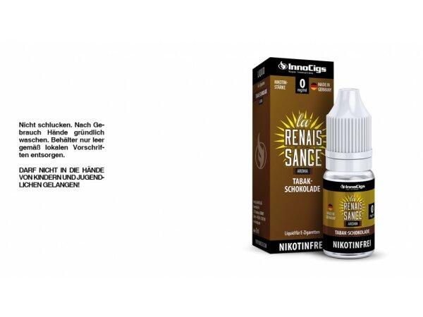 InnoCigs - La Renaissance Tabak-Schokoladen Aroma - Liquid für E-Zigaretten