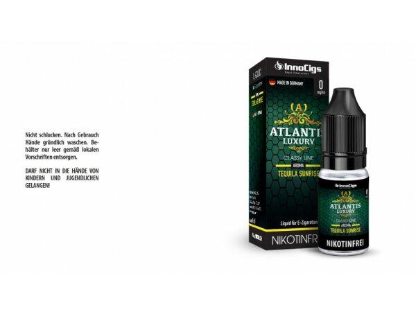 InnoCigs - Atlantis Luxury Tequila Sunrise Aroma - Liquid für E-Zigaretten