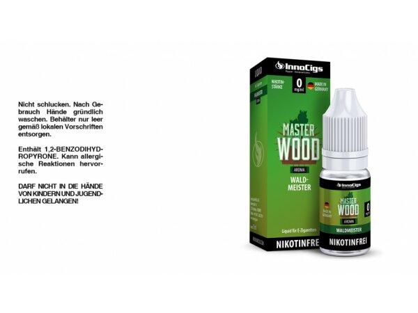 InnoCigs - Master Wood Waldmeister Aroma - Liquid für E-Zigaretten