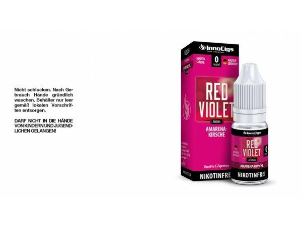 InnoCigs - Red Violet Amarenakirsche Aroma - Liquid für E-Zigaretten