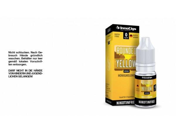 InnoCigs - Rounded Yellow Honigmelonen Aroma - Liquid für E-Zigaretten
