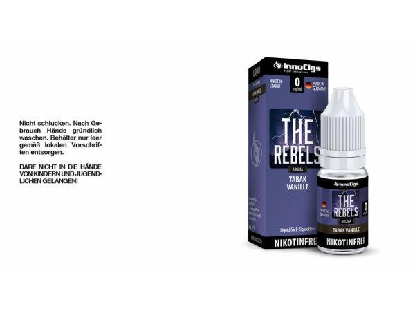 InnoCigs - The Rebels Tabak Vanille Aroma - Liquid für E-Zigaretten