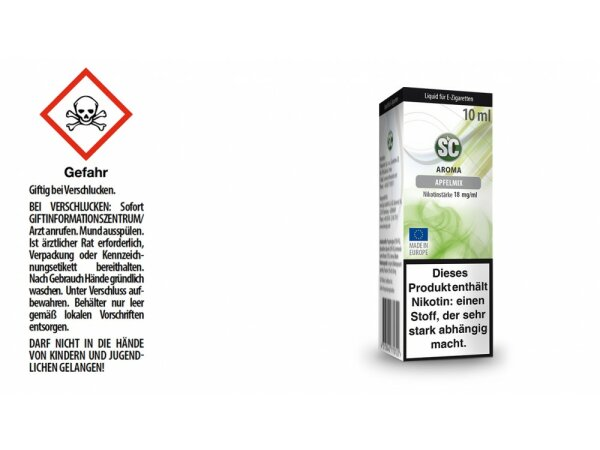 SC - Apfelmix E-Zigaretten Liquid