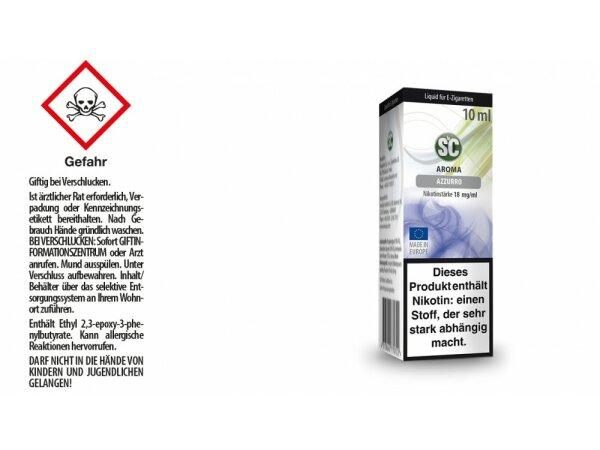 SC - Blue / Azzuro E-Zigaretten Liquid