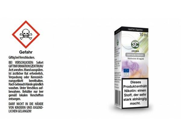 SC - Exotische Früchte E-Zigaretten Liquid