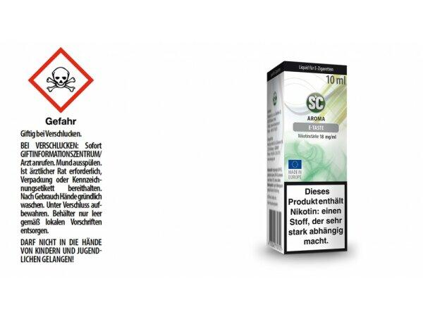 SC - E-Taste E-Zigaretten Liquid