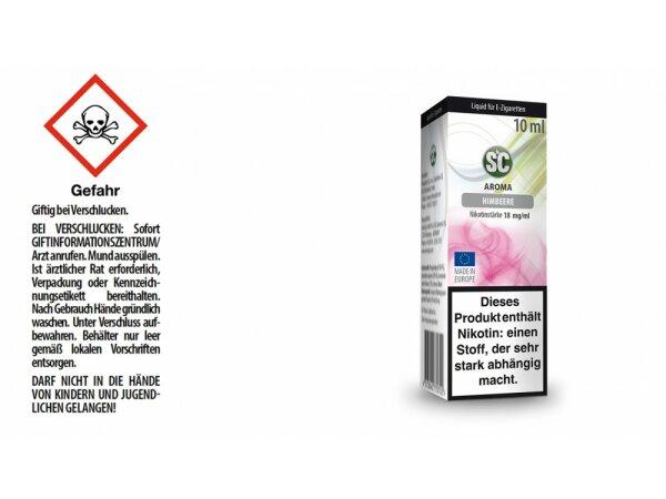 SC - Himbeere E-Zigaretten Liquid