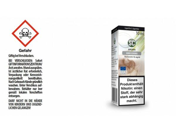 SC - Kokos Schokolade E-Zigaretten Liquid
