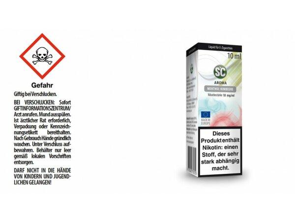 SC - Menthol-Himbeere E-Zigaretten Liquid