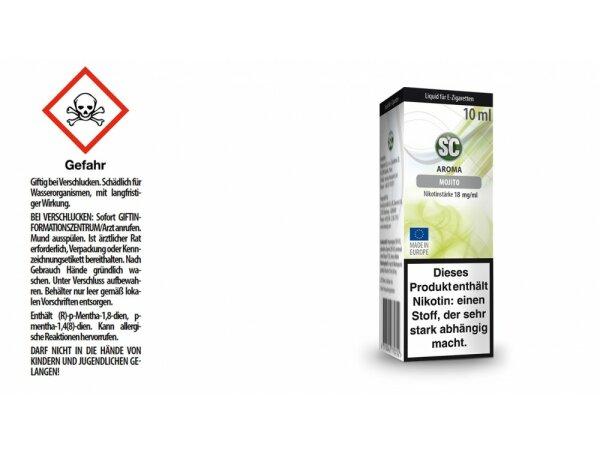 SC - Mojito E-Zigaretten Liquid
