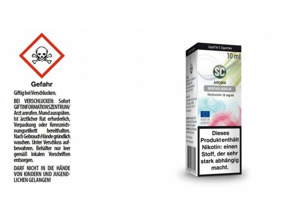 SC - Menthol-Kirsche E-Zigaretten Liquid