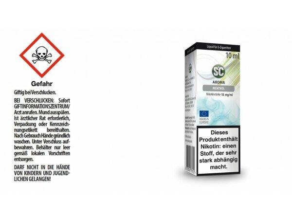 SC - Menthol E-Zigaretten Liquid