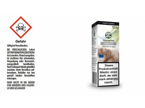 SC - Strong Taste Tabak E-Zigaretten Liquid