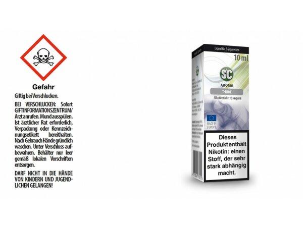 SC - T-Ride E-Zigaretten Liquid