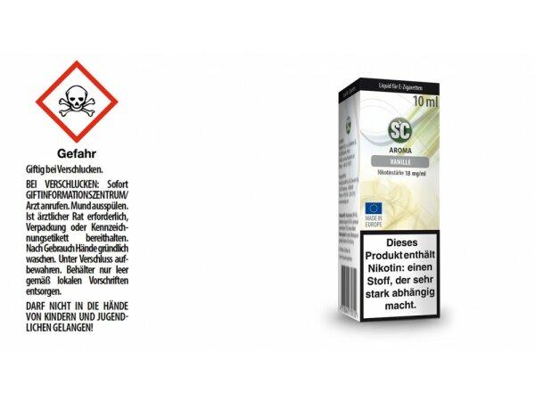 SC - Vanille E-Zigaretten Liquid