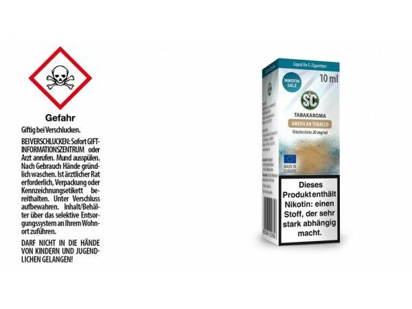 SC - American Tobacco - E-Zigaretten Nikotinsalz Liquid 20 mg/ml