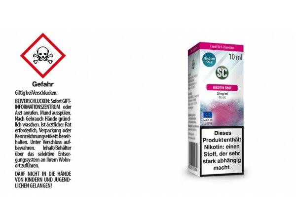 SC - Nikotinsalz Shot 20 mg/ml