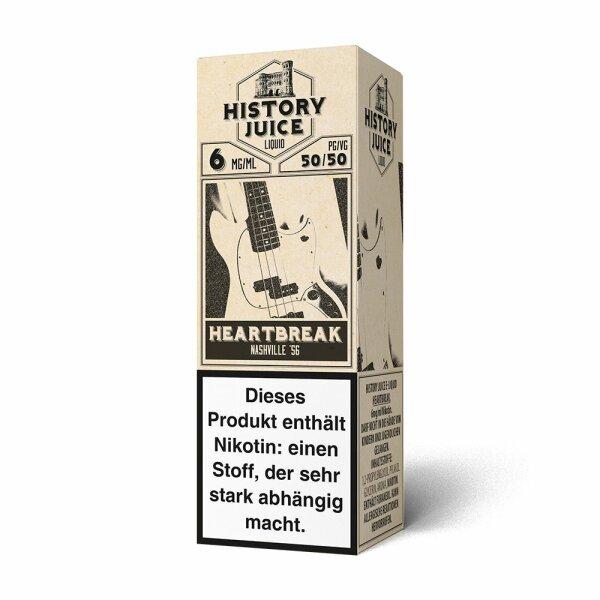 History Juice - Haertbreak 10ml