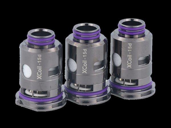 VapX Model 15D Dual Air Mesh 0,2 Ohm Heads (3 Stück pro Packung)