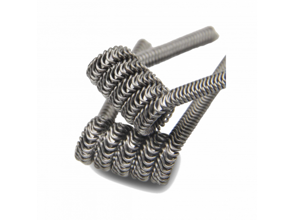 ThunderHead Creations 0,25 Ohm Ni80 3-Fused Clapton Coil (10 Stück pro Packung)