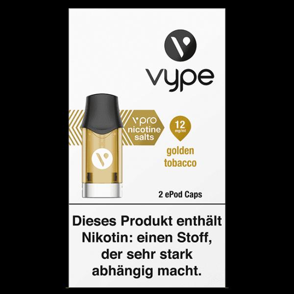 ePod Caps - golden tobacco 18mg