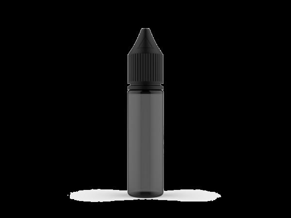 Chubby Gorilla 20ML V3 PET Unicorn Leerflasche schwarz-transparent mit schwarzer Cap