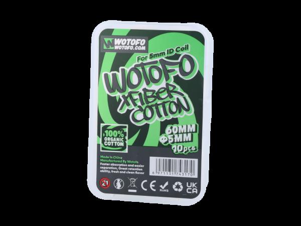Wotofo Profile Xfiber Watte 5mm (10 Stück pro Packung)