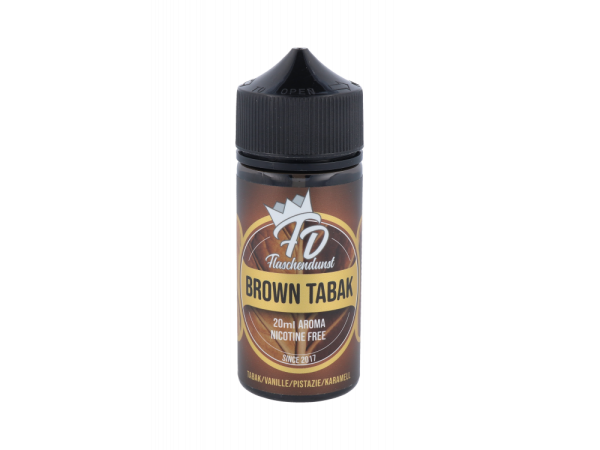 Flaschendunst - Aroma Brown Tabak 20ml